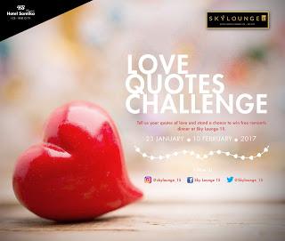 Romantic Dinner Bersama Pasangan Di Sky Lounge 15 Gratis Citranews Indonesia