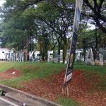 Pembangunan Taman Kesehatan Tangsel 2017 Asal Jadi