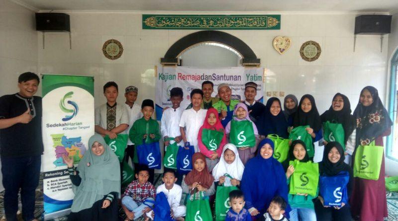 Komunitas Sedekah Harian Tangsel Gelar Santunan Yatim Piatu Dan Dhuafa