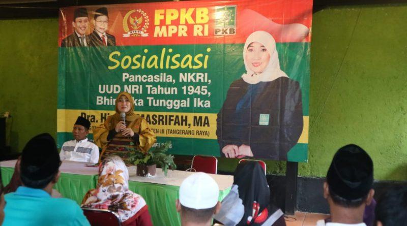 Siti Marifah : Empat Pilar Kebangsaan Mempertegas Jati Diri Bangsa Indonesia
