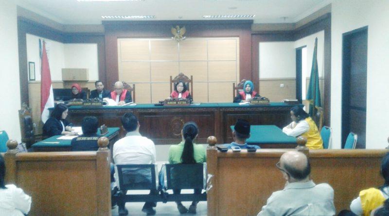 Pengadilan Negeri Kota Tangerang Gelar Sidang Dadakan Ersie