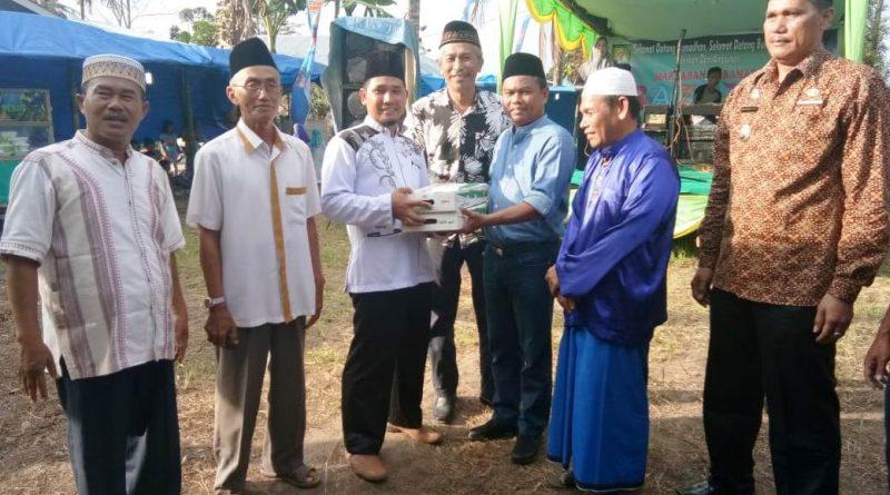 Wabup Sergai Darma Wijaya Buka Bazaar Ramadhan