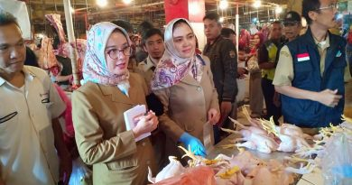 Jelang Ramadhan, Disperindag Tangsel Lakukan Sidak Gabungan ke Pasar Serpong