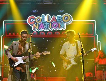 Kolaborasi Perdana Rendy Pandugo dan Pamungkas dalam Collabonation Concert
