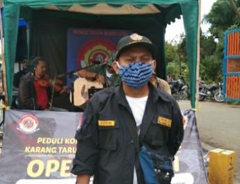 Peduli Korban Bencana Nasional Karang Taruna Kelurahan Bambu Apus
