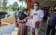 Peduli Warga Terdampak Covid-19 Di Lebak, Polda Banten Gelar Baksos