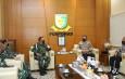 Perkuat Sinergi Dalam Penegakan Disiplin Personel TNI-Polri, Kadiv Propam Polri Sambangi Danpuspom AD