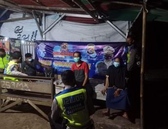 Ngopi Wae, Ditlantas Polda Banten Tekan Penyebaran Covid-19