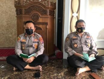 Perkuat Ketaqwaan Personel, Polres Cilegon Polda Banten Gelar Binrohtal