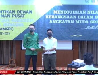 Resmi Di lantik, DPP KAMSRI Sodorkan Para Pengurus Potensial