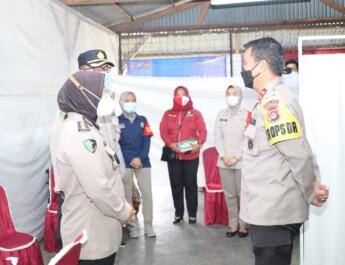 Pastikan Berjalan Lancar, Kapolda Banten Cek Kesiapan Vaksinasi Di PT. Elite
